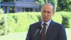 Путин объяснил, почему Россия не может выдать Сноудена США