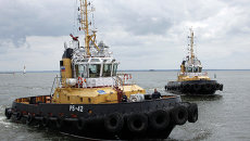 Буксиры Балтийского флота. Архивное фото