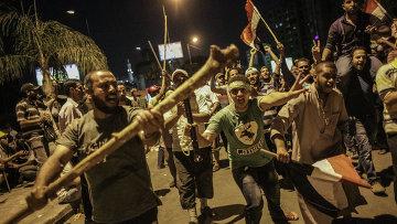 Столкновения сторонников Мурси и полиции в Каире