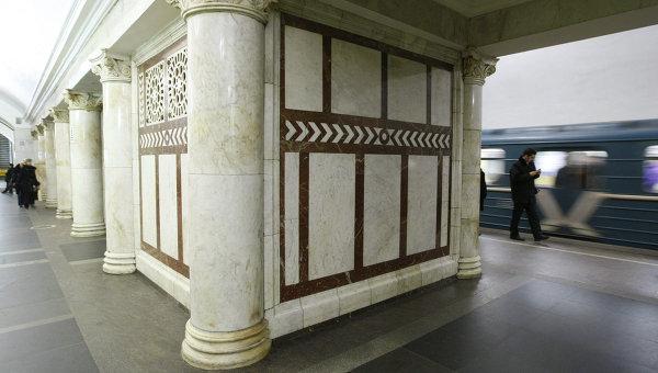 Станция Кольцевой линии Московского метрополитена Павелецкая. Архивное фото