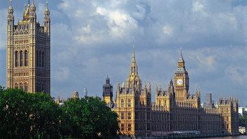 Вестминстерский дворец в Лондоне, архивное фото