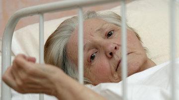 Одна из пациенток Первого Ростовского хосписа для онкологических больных