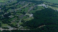 Подтопленное село Кокшаровка. Архивное фото