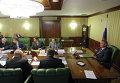 """Заседание комиссии по расследованию аварии ракеты """"Протон-М"""""""