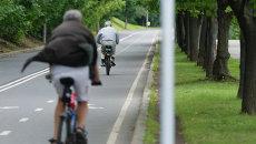 Велосипедная дорожка. Архивное фото