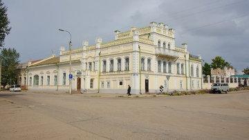Бутинский дворец в городе Нерчинск. Архивное фото