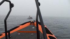 Спасатели и журналисты час искали организатора ЧМ в Японском море