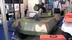 Экзоскелет, боевые роботы и машина для спецназа на выставке Минобороны РФ