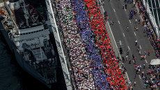 Триколор во Владивостоке: самый высокий, рекордный, заметный и живой