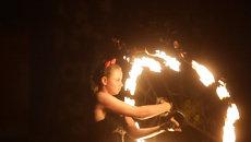 Черти, Машенька и великаны: фестиваль театров огня в Томске