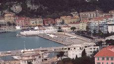 Курортный город Ницца. Архивное фото