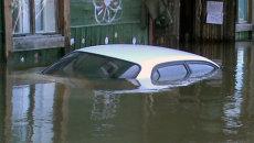Утонувшие машины и подъезды: вода в Амуре превысила исторический максимум