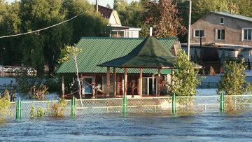 Паводок в Хабаровском крае, фото с места событий