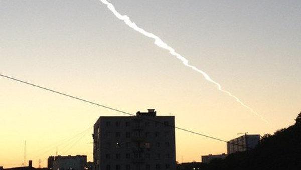 Жители Владивостока видели, как над городом пролетел метеорит. Архивное фото