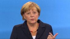 Меркель объяснила, почему Германия не будет участвовать в операции в Сирии