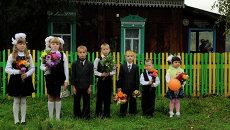 Начало учебного года в Красноярском крае
