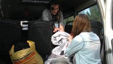 Томичи собрали деньги и теплые вещи в помощь Дальнему Востоку