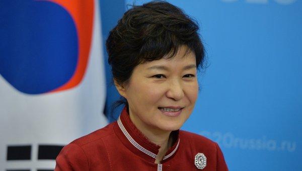 Президент Республики Корея Пак Кын Хе