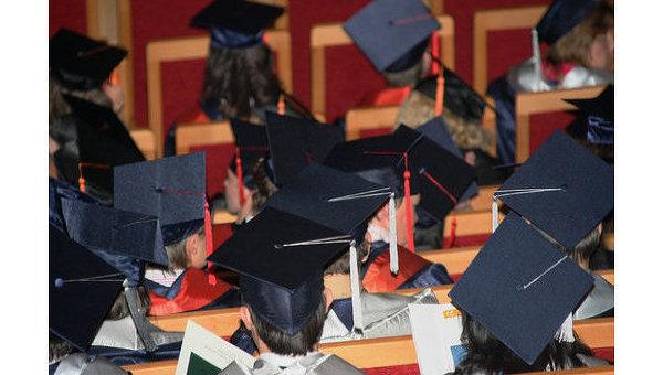 Торжественная церемония вручения дипломов выпускникам МГУ
