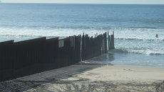 Морская граница США и Мексики, архивное фото
