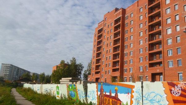 Дом на улице Невского, 7б в Томске, архивное фото