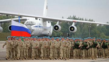 Российско-белорусские стратегические учения Запад-2013. Фото с места событий