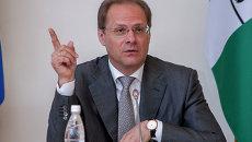Губернатор Новосибирской области Василий Юрченко, архивное фото