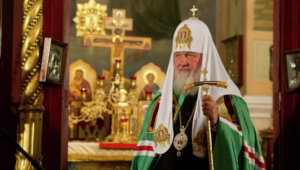 Патриарх Кирилл в Томске