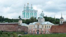 Вид города Смоленск. Архивное фото