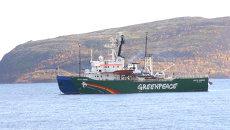 Ледокол Greenpeace. Архивное фото