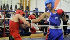 Первенство Красноярска по боксу среди юношей и девушек
