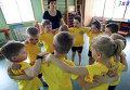 Оздоровительные занятия в детском саду №53 в Калининграде