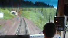 Джебский тоннель на Красноярской железной дороге. Архивное фото