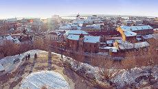 Панорама Томска, архивное фото