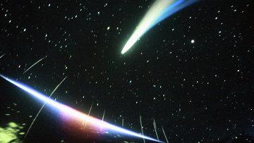 Кадр из фильма в планетарии, архивное фото