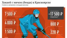 Хоккей с мячом в Красноярске: площадки для игры, стоимость экипировки