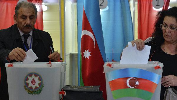 Выборы Президента Республики Азербайджан. Фото с места события