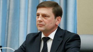 Новый руководитель Федерального космического агентства (Роскосмос) Олег Остапенко