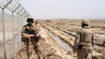 Военнослужащие ISAF
