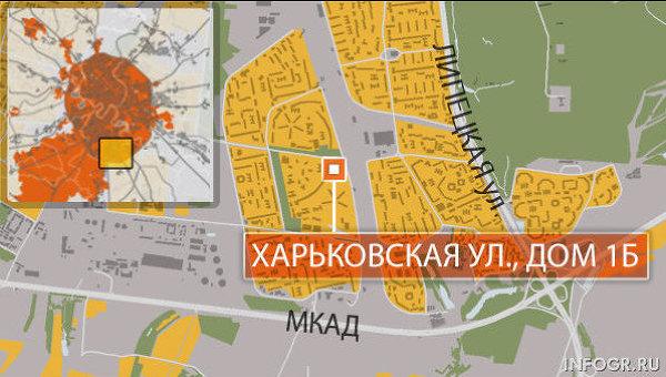 Москва, район Бирюлево