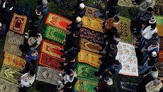 Курбан-Байрам в Красноярске: тысячи верующих сотворили молитву