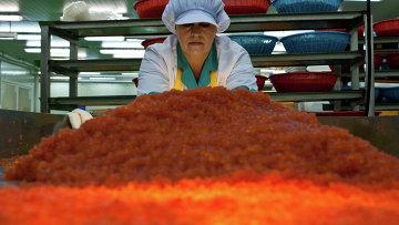 Рыбоперерабатывающий завод. Архивное фото.