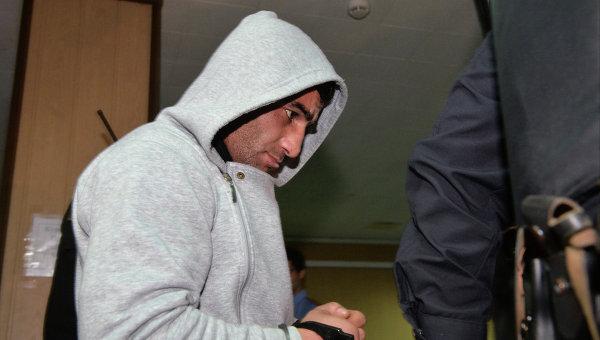 Орхан Зейналов в здании Пресненского суда города Москвы. Фото с места события
