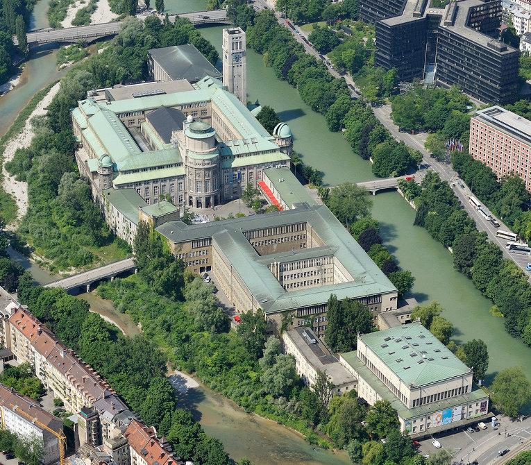 Вид на Немецкий музей