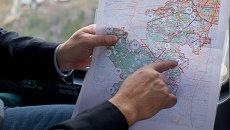 Карта Новой Москвы. Архивное фото