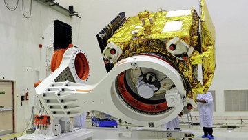 Индийский марсианский аппарат Мангальян во время испытаний