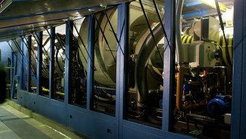 Газотурбинная установка, архивное фото