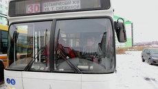 Водитель новосибирского автобуса Михаил Рыбалко
