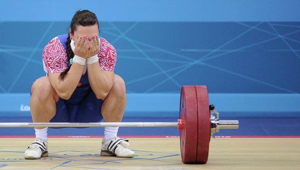 МОК лишил русских тяжелоатлеток Евстюхину иШаинову наград Олимпиады встолице Китая