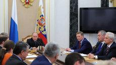Заседание Совета по противодействию коррупции. Архивное фото